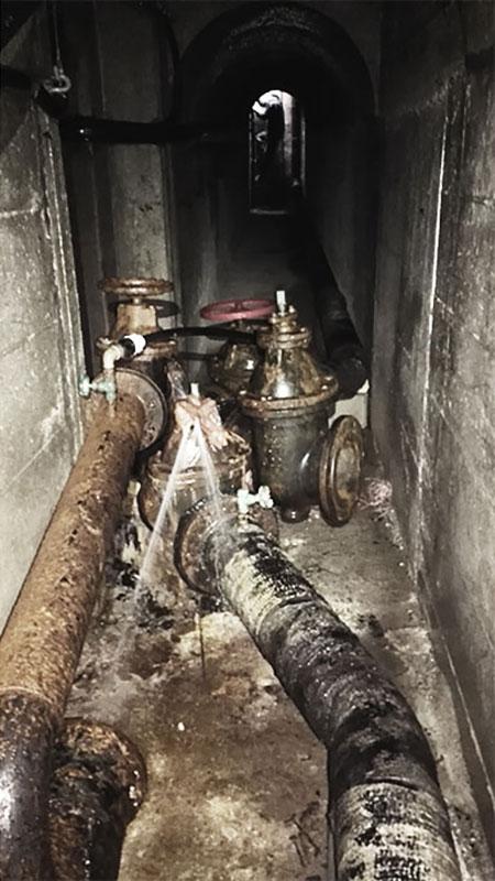 Esempi di perdite idriche nella rete di Terni trovate da Hyper STP