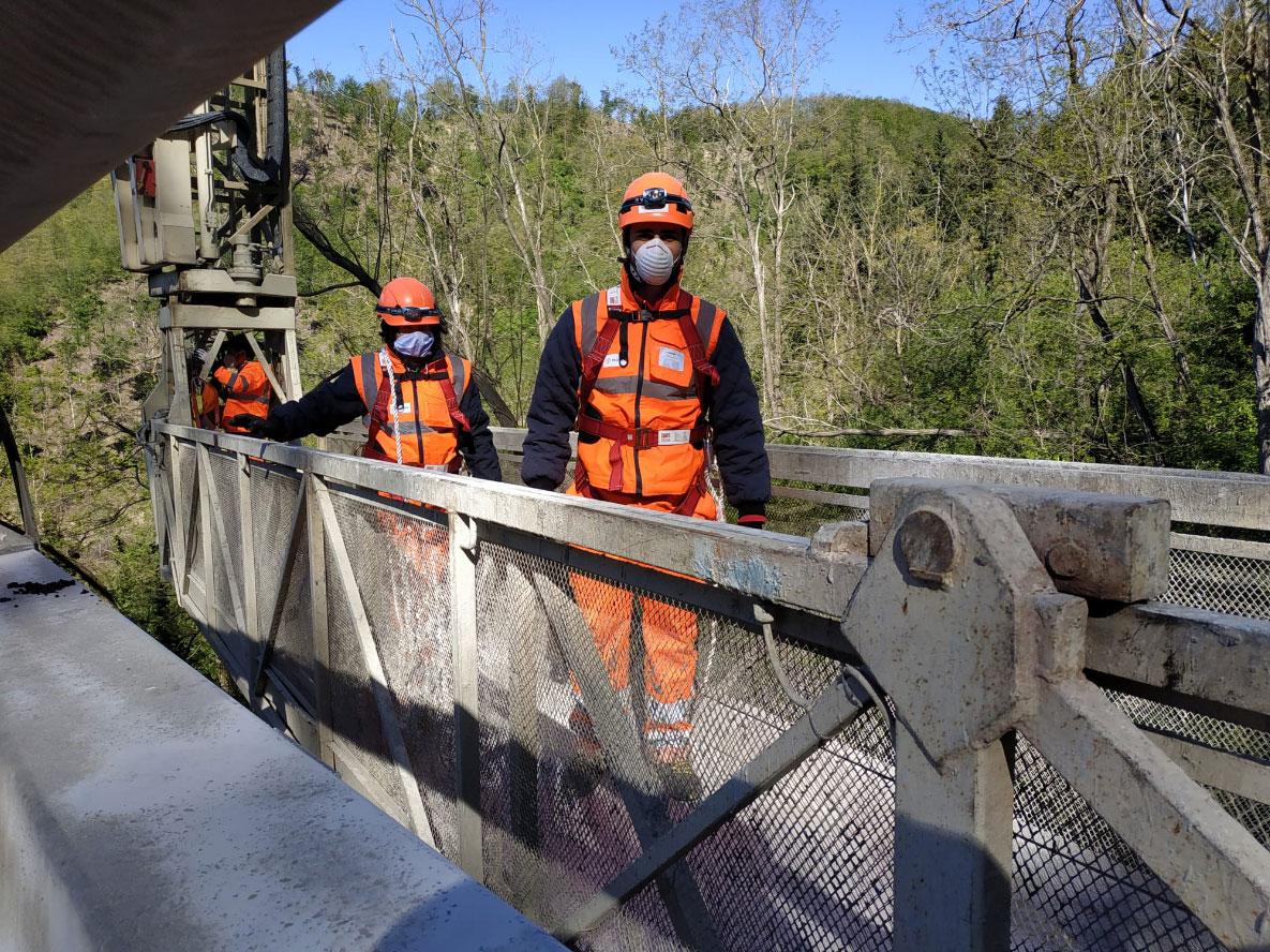 Ispezioni ponti autostrade Proger Hyper