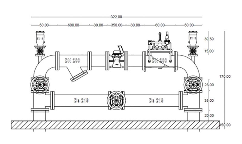 Progetto cameretta di misurazione e regolazione Hyper